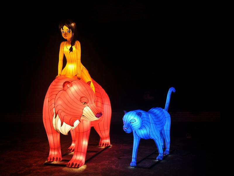Jungle Book Light Festival