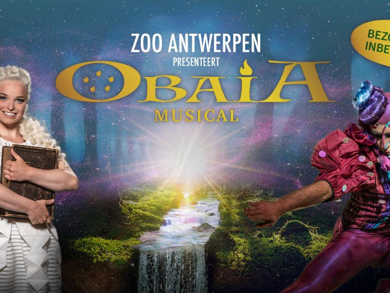 ZOO Antwerpen pakt uit met musical OBAIA