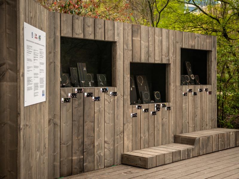 ZOO Antwerpen stelt juwelen met een grote boodschap tentoon